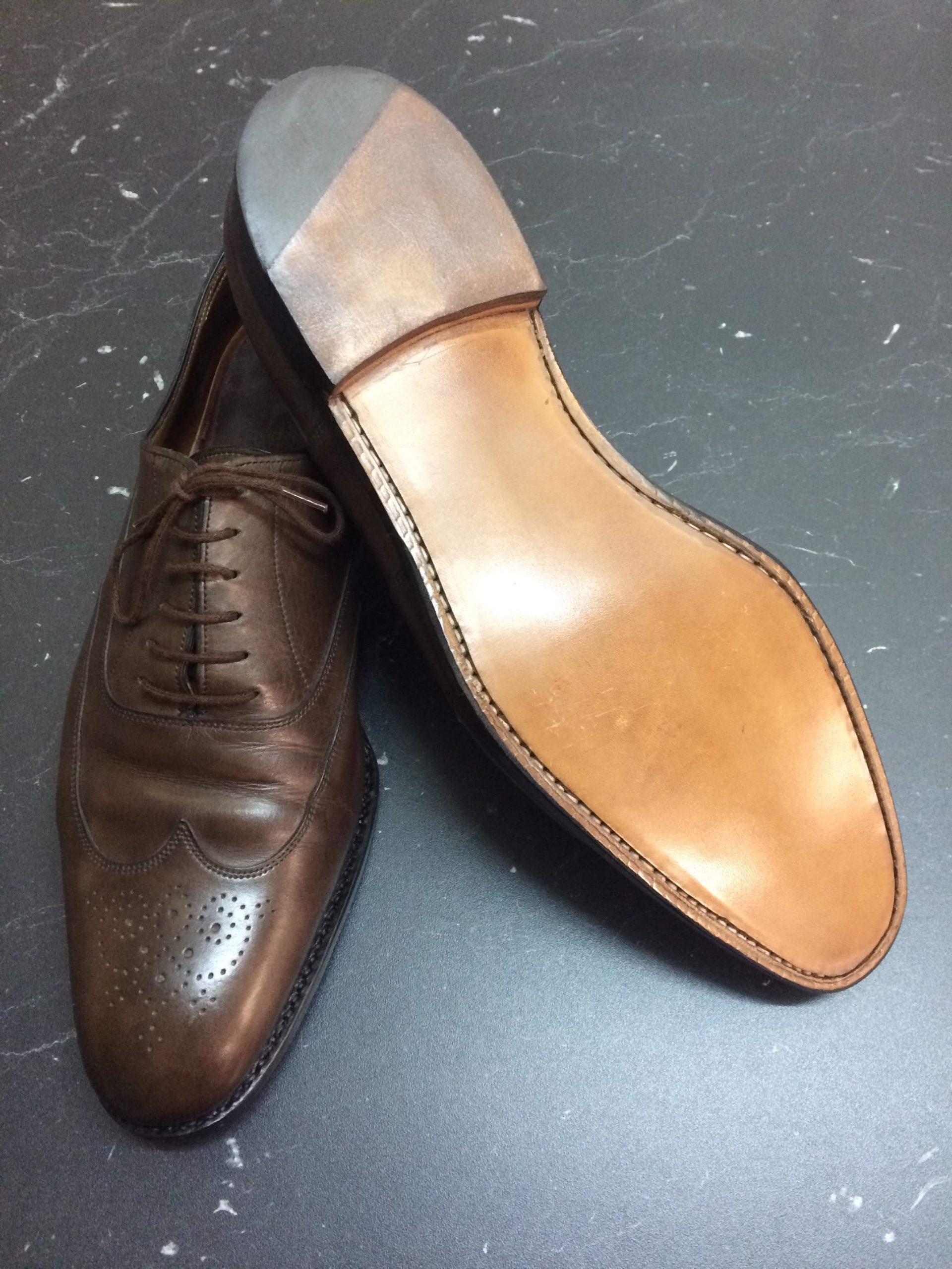 Shoe repair for men's shoes - Sole
